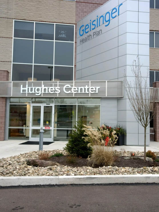 Geisinger Hughes Center New Entry Vestibule and Utility Room - Stahl ...